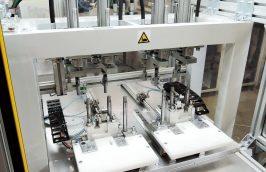 montazna stanica hydraulika roznitovanie klipov